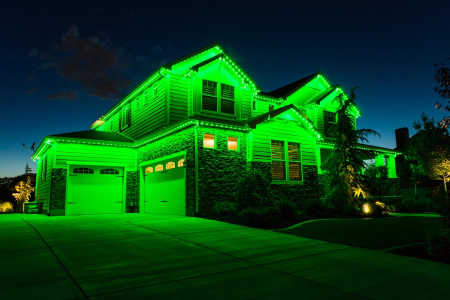rgb lighting green